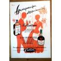 Ballantine's Courvoisier Vintage Greek Advert