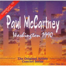 Paul McCartney - Washington 1990 (CD)