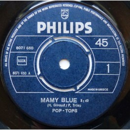 The Pop Tops – Mamy Blue (EP)