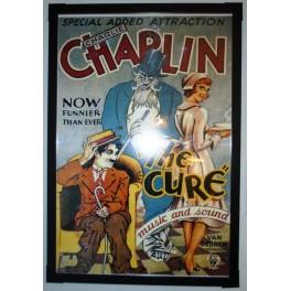 Charlie Chaplin The Cure Framed Art Print