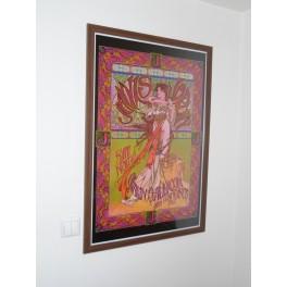 Janis Joplin Framed Art
