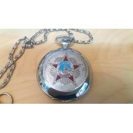 Antique Pocket Watch Molnija