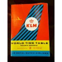 KLM World Time Table 1963