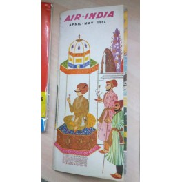AIR - INDIA Timetable & Route Map