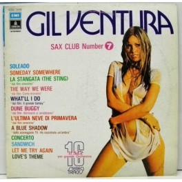 Gil Ventura – Sax Club Number 7 (LP)
