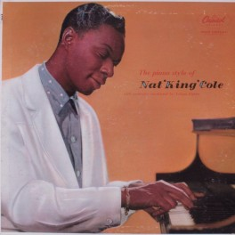 Nat 'King' Cole – The Piano Style Of Nat 'King' Cole (LP)