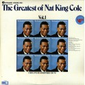 Nat King Cole – The Greatest Of Nat King Cole Vol. 1 (2 LP)