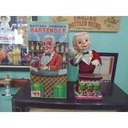 Bartender 1950's Retro Tin Toy
