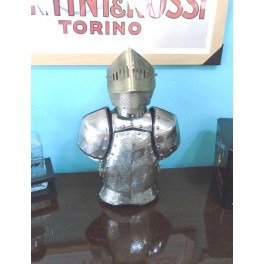 Retro Knight Bar Stand with Shot Glasses
