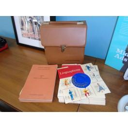 Vintage Linguaphone Record Case
