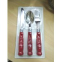 Coca Cola Cutlery Set: Knife Spoon Fork