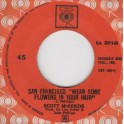 """Scott McKenzie – San Francisco """" Wear Some Flowers In Your Hair """" / What's The Difference (EP)"""