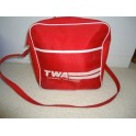 TWA Authentic Retro Flight Bag
