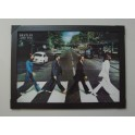 The Beatles Abbey Road 3D Poster with Frame