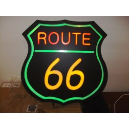 LED/ NEON Style Route 66 Sign / Billboard