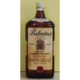 Ballantines' Whiskey Old Bottle