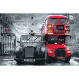 Taxi & Bus in London