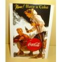 Coca-Cola Now Postcard
