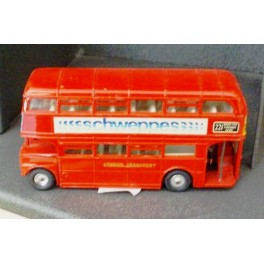 London Transport Routemaster Bus 289 (Schweppes) - Dinky Toys