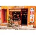 Vintage Restaurant in France