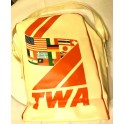 1950's Original TWA Flight Bag