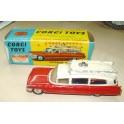 Corgi Toys - 437 Superior Ambulance on Cadillac Chassis