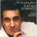 Placido Domingo With John Denver – Perhaps Love (LP)