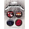 Metalllica - Button Badge Pack