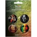 Bob Marley - Official Badge Pack
