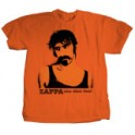 Frank Zappa T-shirt (Orange)