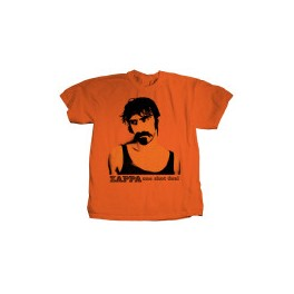 Frank Zappa T-shirt (Orange)