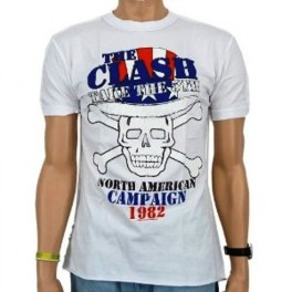 The Clash - Take The 5th T-shirt by Amplified (White)