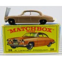 Lesney Matchbox Series No 28 - Mark Ten Jaguar