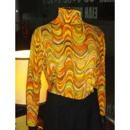 Women's 1960's Mod Blouse