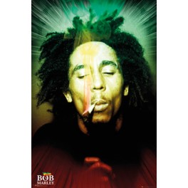 Bob Marley Smoking
