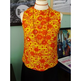 Vintage Summer Blouse 1960's