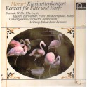 Mozart– KlarinettenKonzert A Dur Kv 622 - Konzert Fur Flote C Dur Kv 299 (LP)
