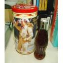 Collectible Coca - Cola Tin & Bottle