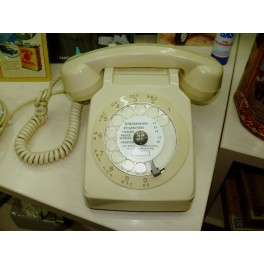 Retro Telephone Ivory
