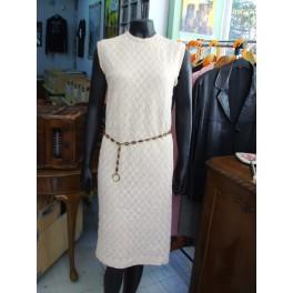 Vintage Ivory Dress