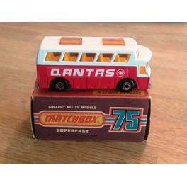Quantas Airlines Coach No 65 - Matchbox Superfast 75, 1977
