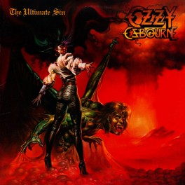 Ozzy Ozbourne ‎– The Ultimate Sin (LP)